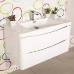 Mobile-bagno-sospeso-moderno- lavabo-colonna-specchio-Narciso-bianco (1)
