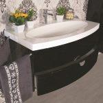 mobile-bagno-sospeso-moderno-92-cm-con-lavabo-colonna-e-specchio-tulipano-nero (1)