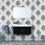 mobile-bagno-sospeso-moderno-92-cm-con-lavabo-colonna-e-specchio-tulipano-nero (2)