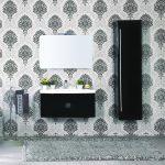 mobile-bagno-sospeso-moderno-92-cm-con-lavabo-colonna-e-specchio-tulipano-nero (3)
