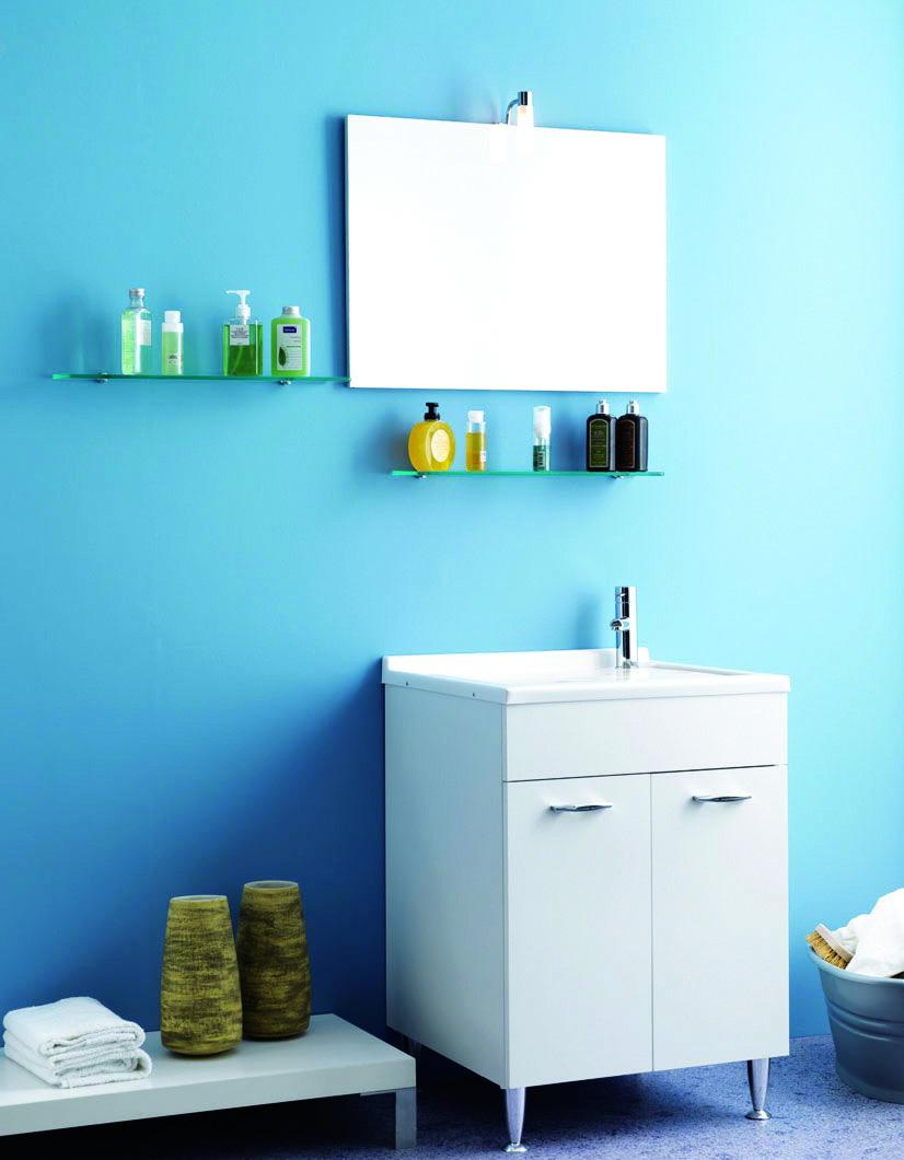 Mobiletto bagno immagini ispirazione sul design casa e - Mobiletto bagno ...