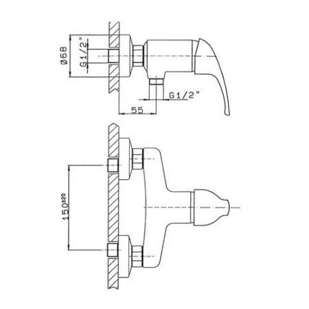 miscelatore-monocomando-per-doccia-esterno-a-parete-ecoline-scheda