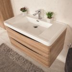 Mobile-bagno-sospeso-moderno- lavabo-colonna-specchio-Narciso-rovere (3)
