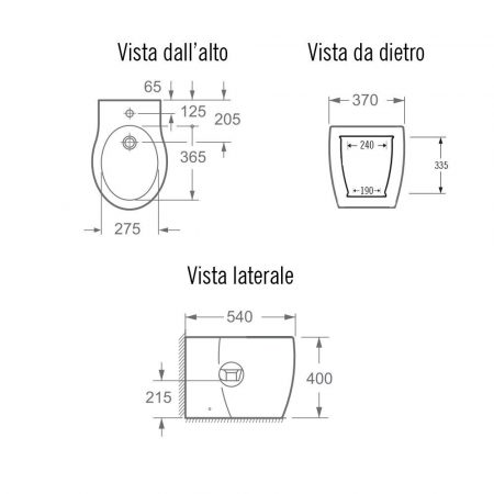 bidet-impression-scheda-tecnica