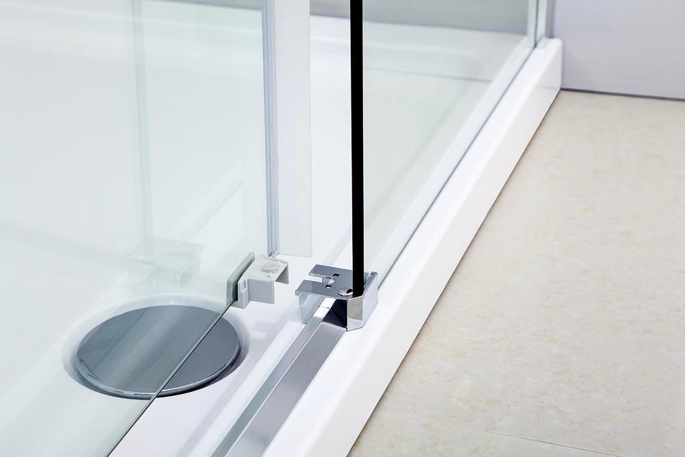 Box doccia angolare 80x100 con anta scorrevole vetro - Porta scorrevole vetro offerta ...
