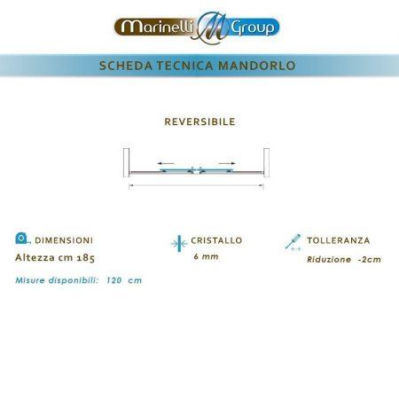 Scheda Tecnica Mandorlo 800