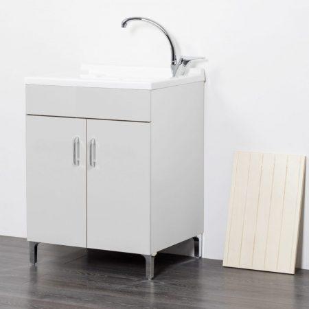 Lavatoio in legno da interno 50x50