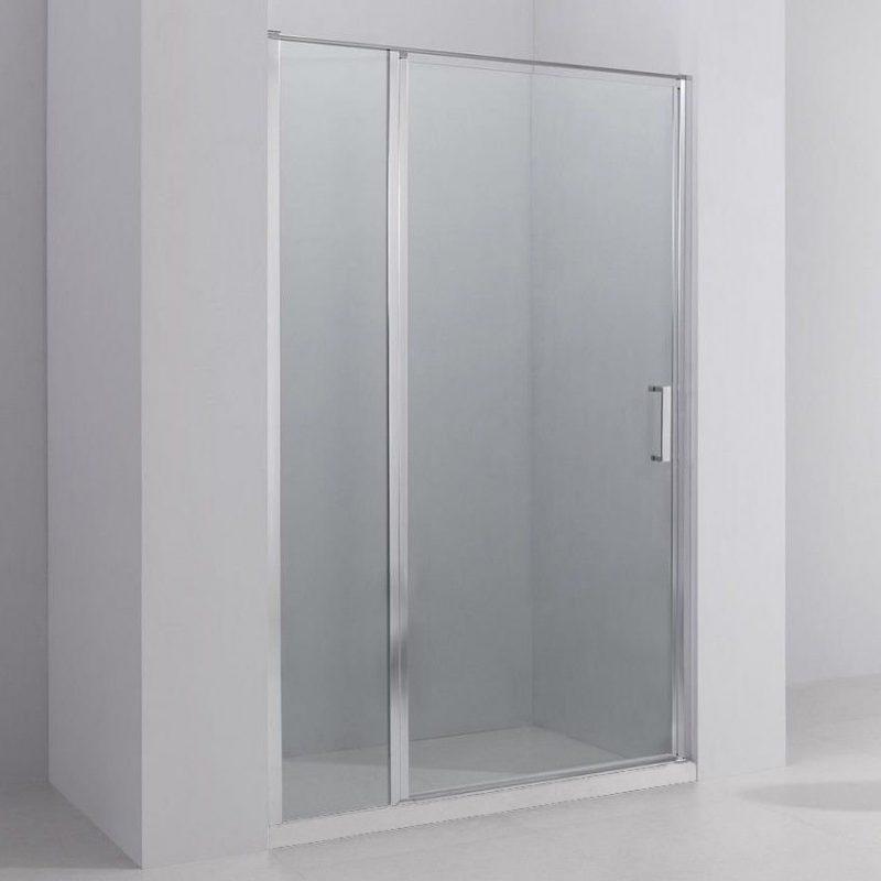 Porta doccia battente 140 cm