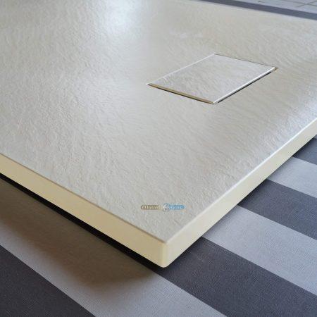 Piatto doccia effetto pietra 70x90 Euclide beige