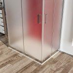 Box doccia 3 lati 6mm cristallo satinato – palma 03
