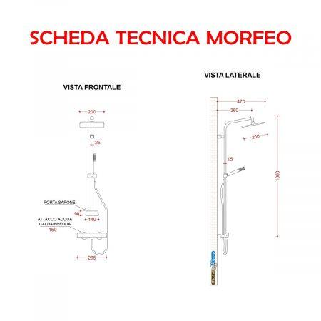 MORFEO SCHEDA TECNICA