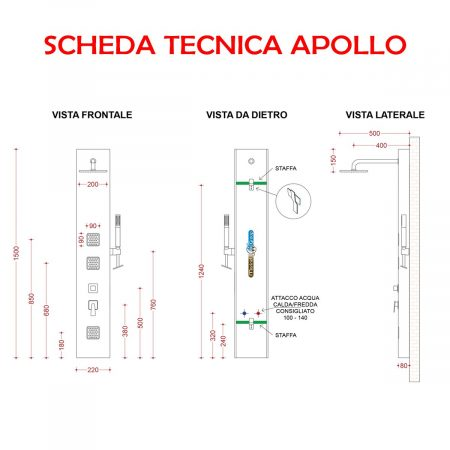 APOLLO SCHEDA TECNICA
