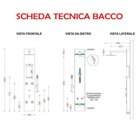 BACCO SCHEDA TECNICA