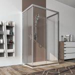 Box doccia 3 lati 6mm cristallo trasparente – palma 01b