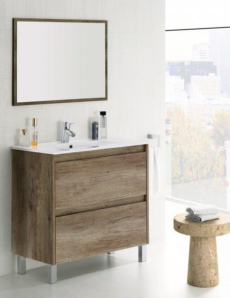 Mobile bagno moderno Dalia 80 cm