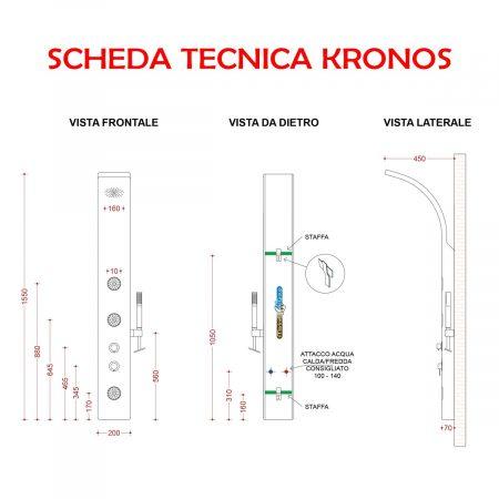 KRONOS SCHEDA TECNICA