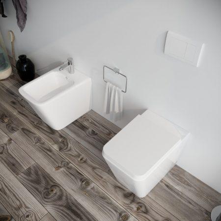 Sanitari-bagno-in-ceramica-filo-muro-vaso-wc-bidet-coprivaso-softclose-modello wave-3