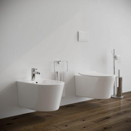 Sanitari-bagno-sospesi-in-ceramica-filo-muro-vaso-wc-bidet-coprivaso-softclose-modello round-1