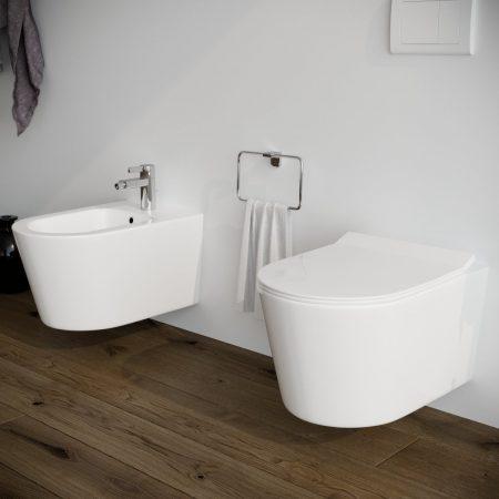 Sanitari-bagno-sospesi-in-ceramica-filo-muro-vaso-wc-bidet-coprivaso-softclose-modello surf-2