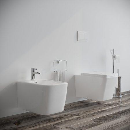 Sanitari-bagno-sospesi-in-ceramica-filo-muro-vaso-wc-bidet-coprivaso-softclose-modello wave-1
