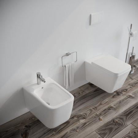 Sanitari-bagno-sospesi-in-ceramica-filo-muro-vaso-wc-bidet-coprivaso-softclose-modello wave-2