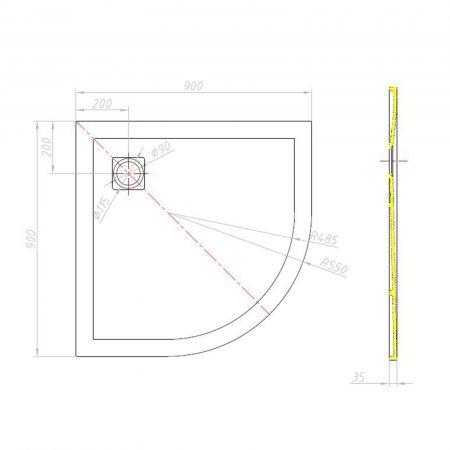 piatto-doccia-effetto-pietra-euclide-st-semicircolare-2019