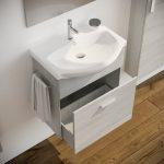 Mobile bagno moderno sospeso colore BIANCO 60 cm modello ginestra 2019-1