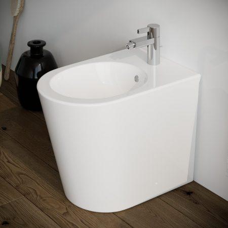 Sanitari-bagno-in-ceramica-filo-muro-bidet-modello surf