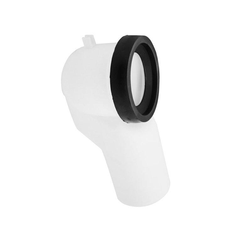 Curva tecnica WC con guarnizione per scarico uscita diam.90