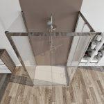 Box doccia 3 lati 6mm cristallo trasparente – palma 02-2019