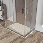 Box doccia 3 lati 6mm cristallo trasparente – palma 04-2019