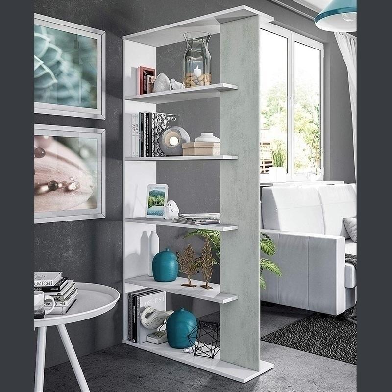 Libreria Bianca Cemento 0L2252A
