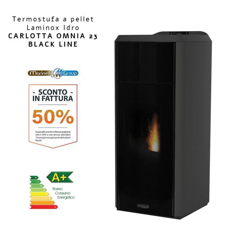 CARLOTTA 23 IDRO LUX BLACK LINE